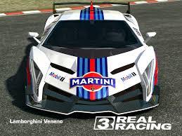 martini livery bmw real racing 3 mod skin livery vinly 2013 lamborghini veneno skin