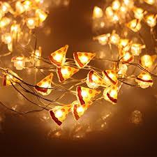 Fairy Lights Amazon Amazon Com Christmas Lights Er Chen Tm 8 Vines 200 Led Pizza
