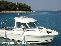 cabin fisher jeanneau merry fisher 625 boat for rental in adriatic adria charter
