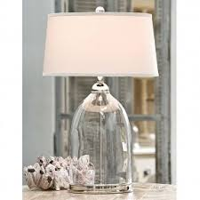 Glass Table Lamp Shades Clear Glass Lamp Shades Foter
