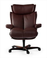 chaise de bureau confortable fauteuil de bureau confortable marron stressless