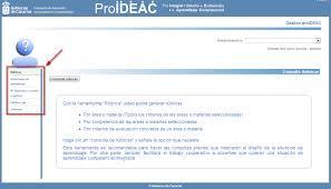 manual del usuario de la aplicación web proideac