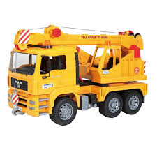 amazon com bruder man crane truck toys u0026 games