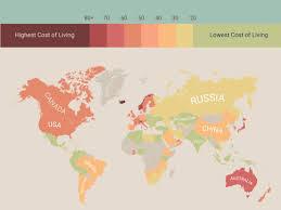 Bermuda World Map The Cost Of Living Worldwide Insider