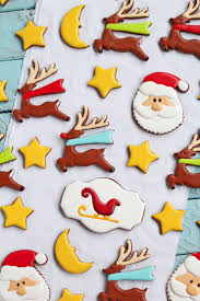 christmas cookies for santa the bearfoot baker