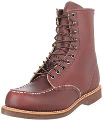 red wing shoes men u0027s 200 8 moc boot oxblood mesa 10 5 d us 0