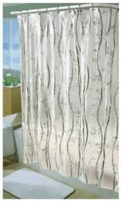 Vinyl Shower Curtains Excell Home Fashions Vinyl Shower Curtain Foter