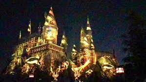 nighttime lights at hogwarts nighttime lights at hogwarts castle crescenta valley weekly