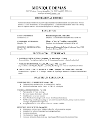 sle resume objective resume education section community college copy science resume with