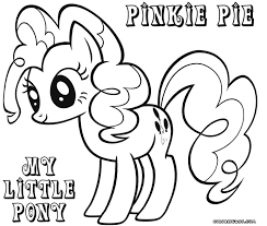 pony coloring pages pinkie pie fablesfromthefriends