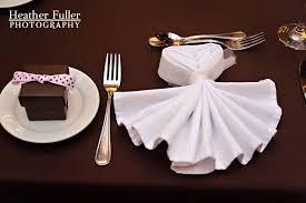 how to fold napkins for a wedding dress napkin fold napkin fold bridal gown dress publick house