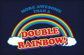 Double Rainbow Meme - more awesome than a double rainbow neatorama