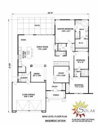 House Plans With Basement Garage by Adobe Southwestern Style House Plan 3 Beds 2 00 Baths 2142 Sq