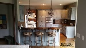 our kitchen u0027s new gray cabinets are gorgeous