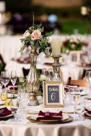 Flower Centerpieces For Wedding 28 Refined Burgundy And Blush Wedding Ideas Weddingomania