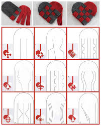 diy 27 woven danish heart printables chatbreak here top row