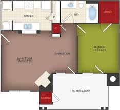 Lincoln Memorial Floor Plan Villas On Memorial Rentals Tulsa Ok Apartments Com