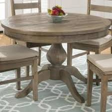 distressed round dining table distressed pine round dining table