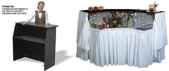 bar rentals bar and coolers rentals