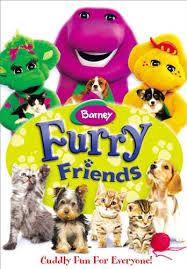 amazon barney furry friends bob west julie johnson dean