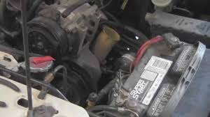 how to change a power steering pump 94 ford ranger 4 0 v6 youtube