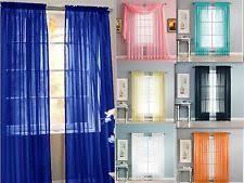 sheer curtains ebay