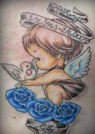 Tattoo Ideas Of Angels Get 20 Cherub Tattoo Ideas On Pinterest Without Signing Up