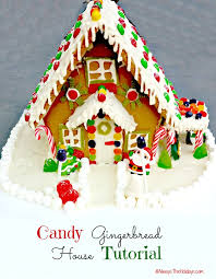 up of gingerbread houses always the holidays