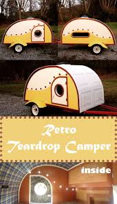 Teardrop Cab Lights by Best 25 Teardrop Camper Trailer Ideas On Pinterest Tiny Camper