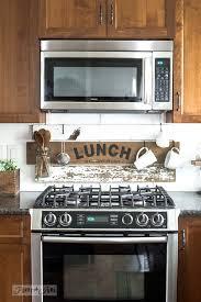 Rustic Farmhouse Kitchens - interchangeable rustic farmhouse kitchen signsfunky junk interiors