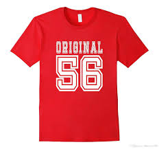 gift for 60 year 60th birthday gift 60 year present idea 1956 t shirt m t