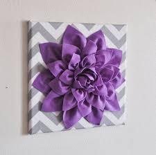 lilac wall art nursery artwork child floral flower purple
