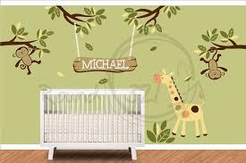 Monkey Decor For Nursery Monkey Themed Nursery Decor Palmyralibrary Org