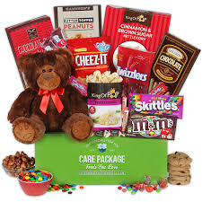 food baskets to send send a hug care package by gourmetgiftbaskets