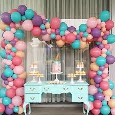 Balloon Decor Ideas Birthdays 10 Simple Balloon Decorations At Home For Birthday