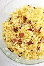 bacon parmesan spaghetti squash recipe home cooking memories