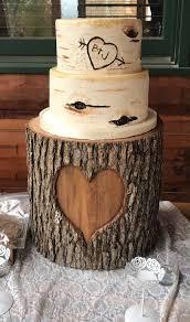 tree stump cake stand custom cakes wedding cakes atlanta wedding gallery