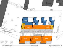 Cascade Floor Plan Gallery Of Cascade Commercial Center Radionica Arhitekture 12