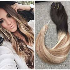 balayage hair extensions 100 european clip in human hair extension ombre balayage hair