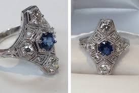 restoration of antique jewelery antique jewelry restoration gallery in silver md