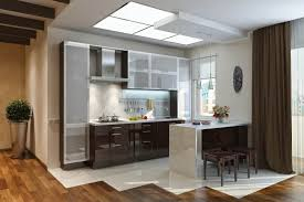 Metal Kitchen Cabinet Doors Modern Glass Kitchen Cabinet Modern Kitchen Modern Glass Kitchen