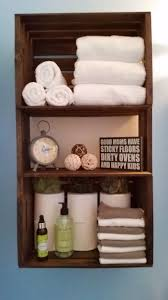 Towel Storage Units 25 Best Wood Crate Shelves Ideas On Pinterest Crates Crate