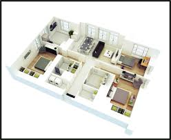 l shaped 3 bedroom house plans free dwg house plans autocad house