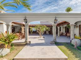 luxury style homes news luxury hacienda style homes for sale in los cabos mexico