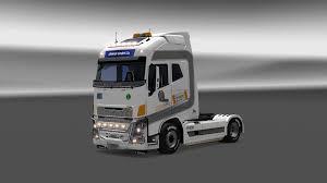 2013 volvo truck volvo fh16 2013 festa logistics truck skin 1 28 euro truck