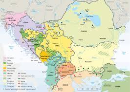 Map Of The Balkans Bill U0027s Excellent Adventures Balkan Travel