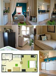 TinyAss Apartment Design Ideas To Steal - Small space apartment design