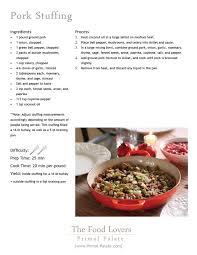 Thanksgiving Pork Paleo Thanksgiving Turkey And Stuffing Primal Palate Paleo Recipes