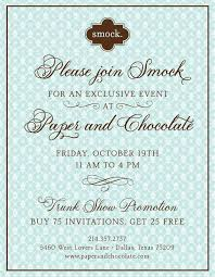 Wedding Invitations Dallas Smock Letterpress Wedding Invitations Smock