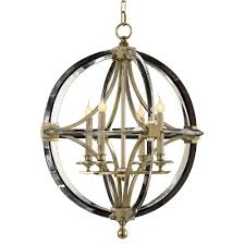 Circle Chandelier Dorry Modern Silver Leaf Circle Caged Chandelier Kathy